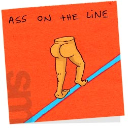Butts-assontheline