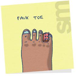Fauxtoe