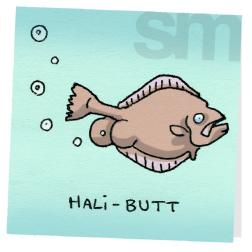 Butts-halibutt
