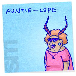 Aunt-auntielope