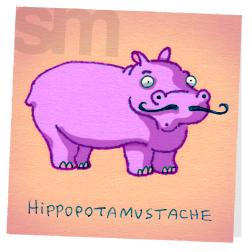 Hippopotamustache