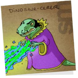 Dinosaurcerer