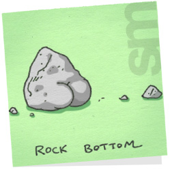 Butts-rockbottom