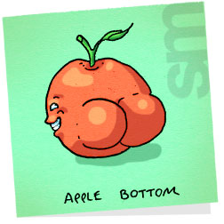 Butts-applebottom