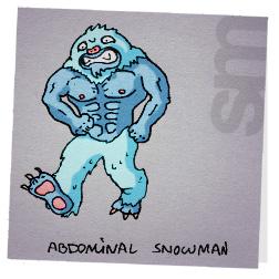 Abdominalsnowman