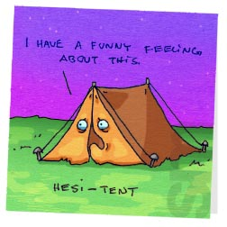 Hesitent