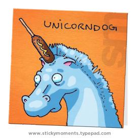 Uni-unicorndog